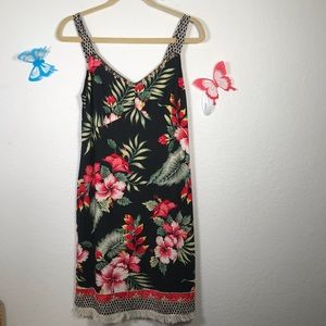 Vanity Dress Size S Topical Sun Dress